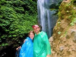 The Madakaripura Waterfall, a waterfall that's part of the Bromo-Tengger National park