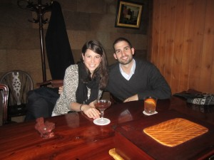 Drinks at Bar Dolphy, a small hidden bar found on the streets of Ginza in Tokyo