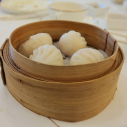 Shrimp dumplings (har gao)
