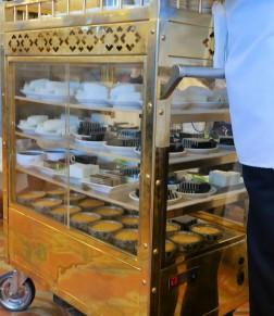 Chinese dessert cart