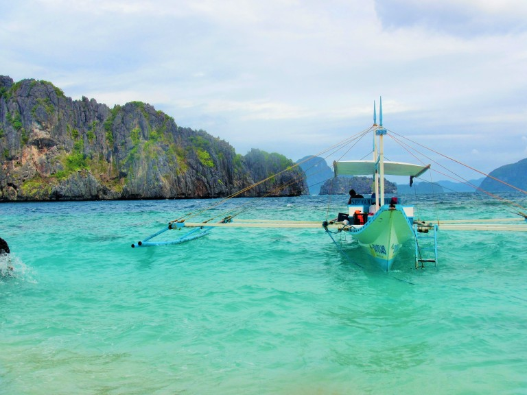 island hopping tour 'C' in El Nido, Palawan