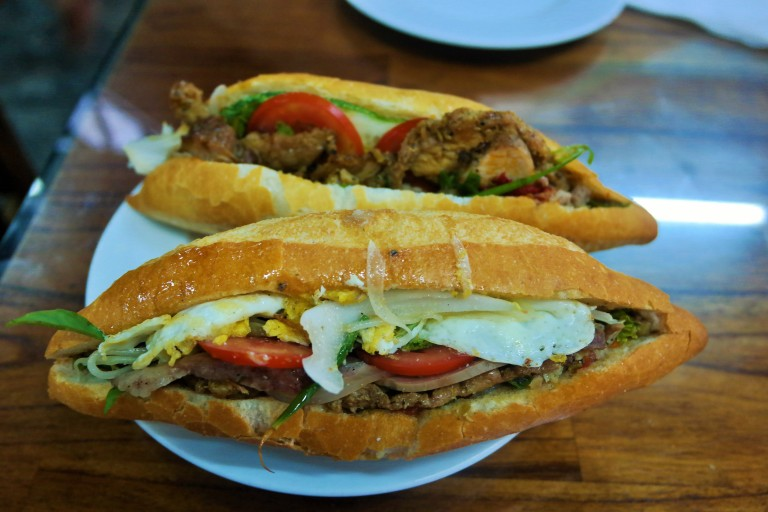 The best banh mi at Banh Mi Phuong in Hoi An's Old Town